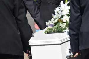 trumna, usługi pogrzebowe